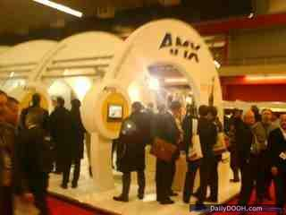 AMX Stand at ISE