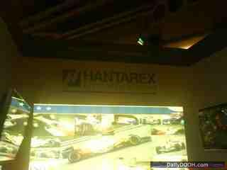 ITrans on the Hantarex Stand