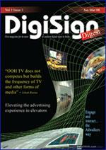 DigiSIgn Digest (Jan - Mar 08) Vol 1 Issue 1 Cover