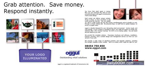 Oggul's Advert in The Times Supplement