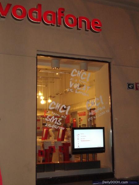 Prague Vodafone Store