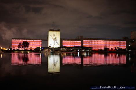 World's Largest Multimedia Projection