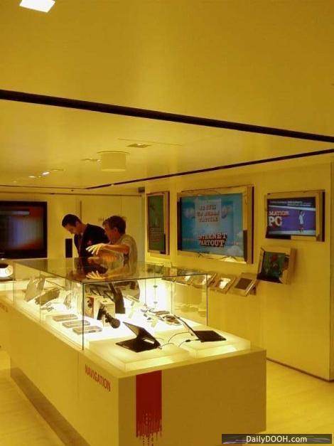 Sales & screens