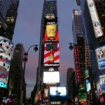 Concept: NYC Times Square Election Night