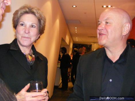 Sunni Boot, President & CEO, ZanithOptimedia Canada, and Yves Gougoux, Chairman & CEO, Publicis Canada