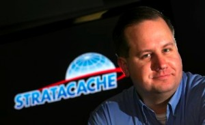 Chris Riegel, CEO of Stratacache.