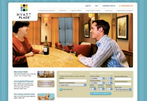 Hyatt Place Web site