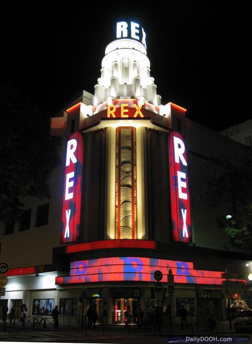 Art Deco Buildings Paris. a listed Art Deco building