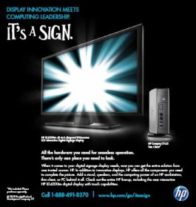 "HP's ""Full Solution"" Ad"