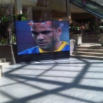 Samsung Pop-Up Video Wall in Markville Mall