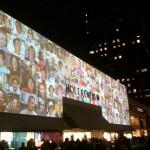Projection Transforms Holt Renfrew Facade