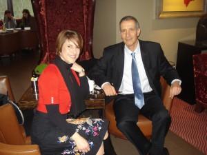 Geny Caloisi and Tamir Ginat, C-nario CEO