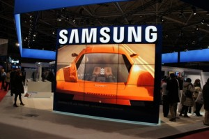 Samsung's LED LCD Video Wall
