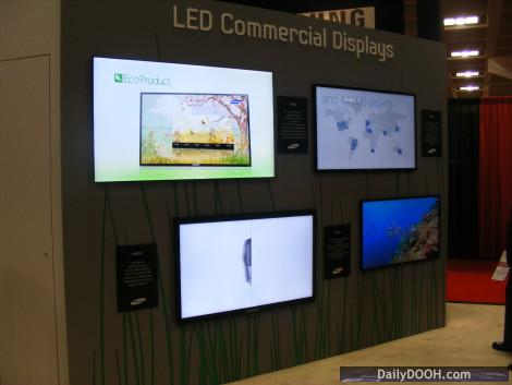 Samsung Commercial Displays >> Dailydooh Blog Archive Samsung S Led Commercial Displays