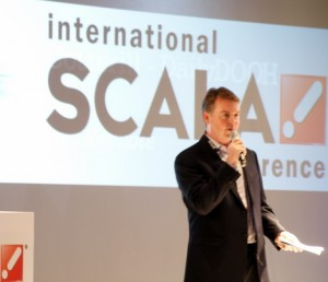 Tom Nix at the 2011 Scala Conference