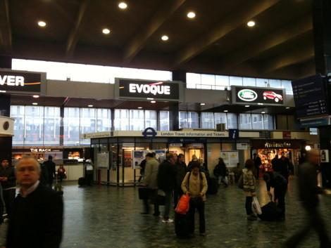 Dailydooh 187 Blog Archive 187 Evoque Railway Station London