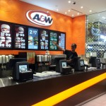 A&W Guy proud of his new digital menus