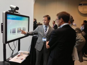 Chris Wiegand  demonstrates at CIX