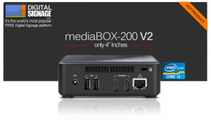 MediaSignage.com MediaBOX-200
