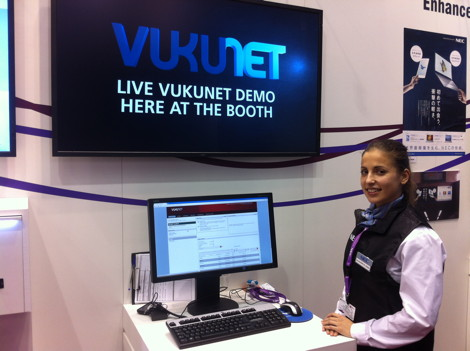 VUKUNET at #mwc2013