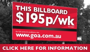 goa this-billboard-195-per-week