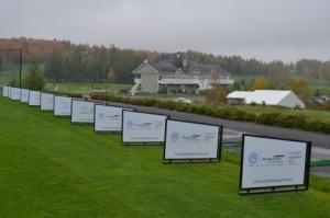 Zoom-Golf Media Driving Range Boards