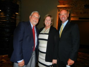 Earl Weihe, COO; Joanne Cetkino, Sales Director; Tom Reilly, SVP Sales, NCM 