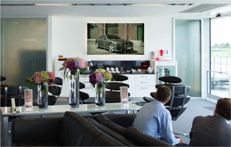 London Farnborough - Mercedes