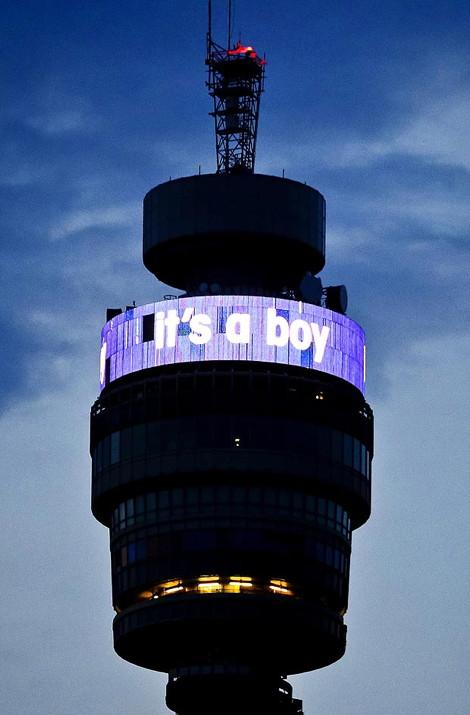 Its a boy BT Tower