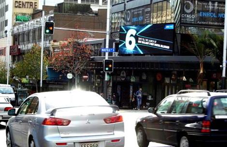 auckland first digital billboard