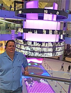 Danny Barnycz at the Dubai Mall