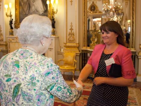 Julie Meets the Queen