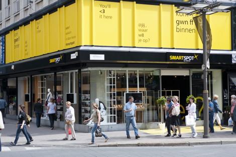 SmartSpot Antwerp exterior