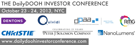 DailyDOOH Investor Conference Sponsors