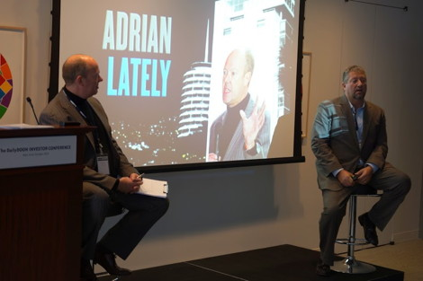 Adrian Cotterill interviews Mike DiFranza at The DailyDOOH Investor Conference
