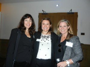 Chicago trio, L-R: Pamela Toohey and Erica Madden, RMG; Maureen McCluskey, Kinetic