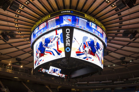 New GardenVision at Madison Square Garden