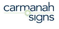 logo carmanah signs