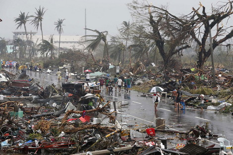 philipines typhoon
