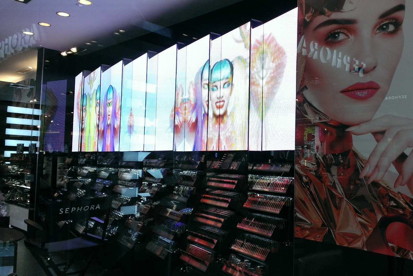 DailyDOOH » Blog Archive » Sephora Wows Shoppers With 'Lights And ...