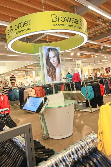 w0704py - polytouch in Marks and Spencer Stores - Cheshire Oaks