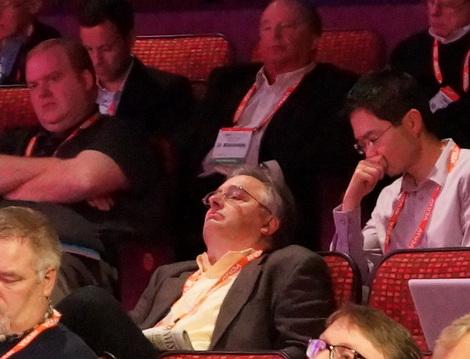 DSE2014 Intel keynote attentive audience