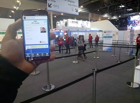 NFC Badge Entrance