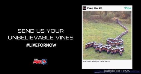 PepsiMax Vine DOOH template