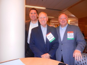 Scott Elliott and Steve Ellman, Branded Cities; Gerald Griffin, ABC Regional Sports & Entertainment