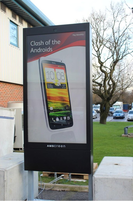 amscreen large screen prototype