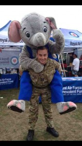 Morris at a  Royal Airforce Benevolent Fund charity event last year