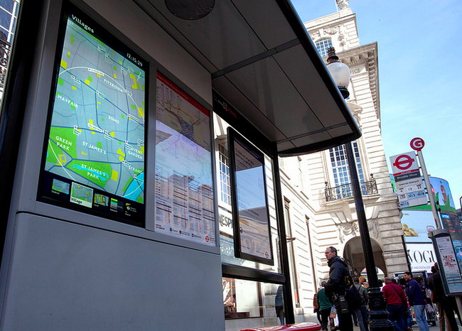 Dailydooh 187 Blog Archive 187 Interactive London Bus Stop