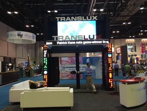 Translux at 2014SignExpo