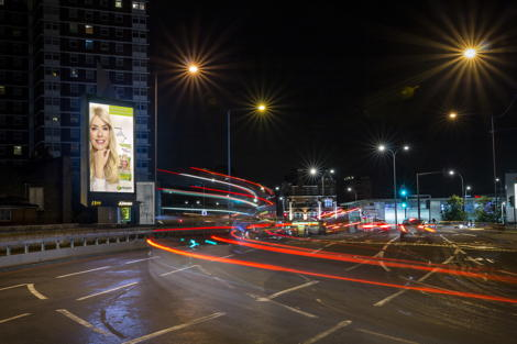 JCDecaux's The W8 Network - The Holland Park Tower